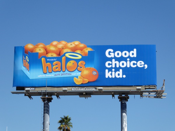 Halos Good choice kid billboard