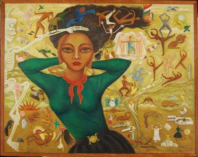 Autoportrait, Rosa Rolanda Covarrubias
