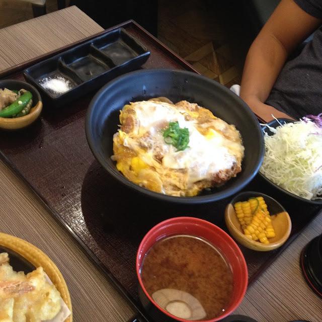 Rosu katsu curry meal at Tonkatsu