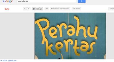 Novel Perahu Kertas Dee