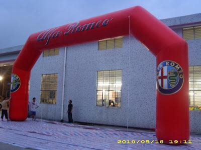 Balon Gate Alfa Romeo