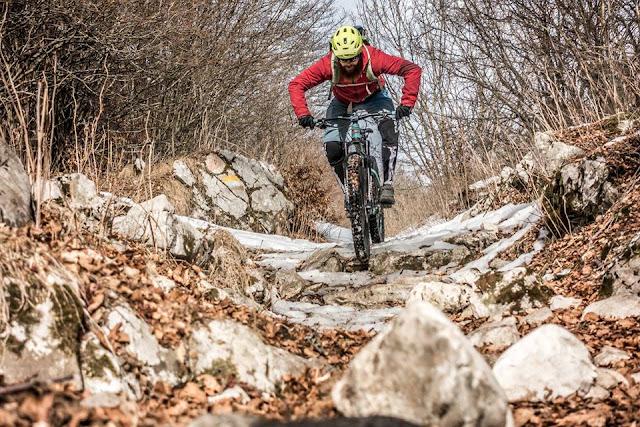 GPS MTB: Mountainbike Tour Bardolino Forte Naole Monte Baldo Massiv
