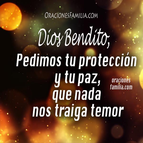 La mejor oración de la noche antes de dormir, oraciones para la familia de protección, Dios cuida a mis hijos, padres, hermanos, plegaria por Mery Bracho.