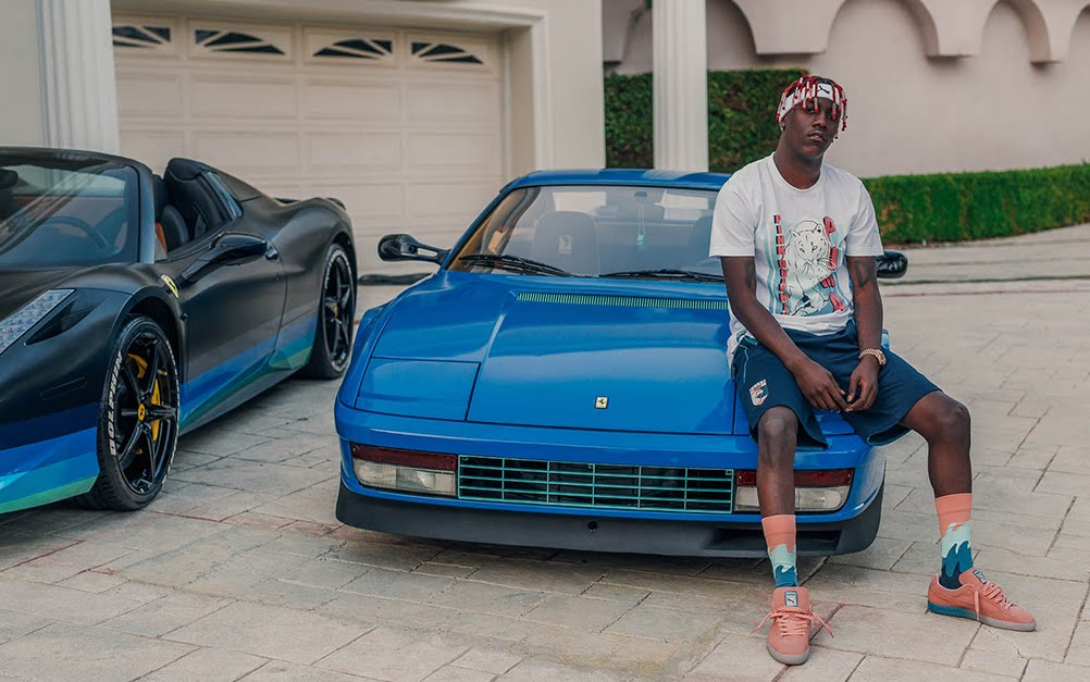 huge selection of a1161 32487 PUMA x Pink Dolphin Suede Classic Lookbook feat. Lil Yachty ...