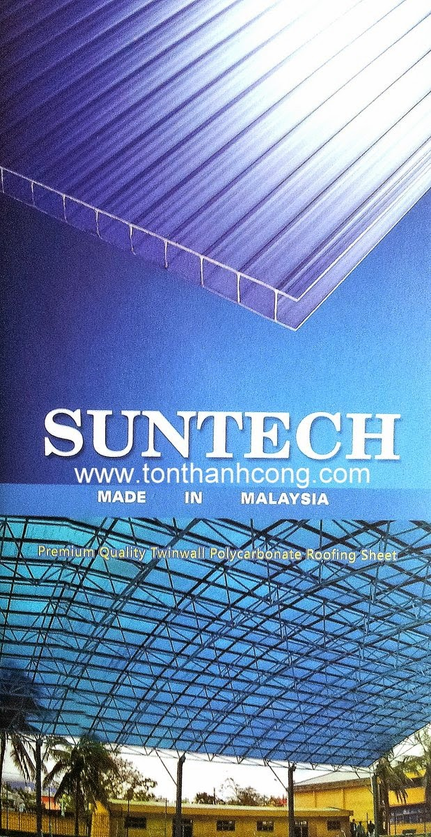 Logo & thương hiệu tấm lợp lấy sáng Polycarbonate rỗng ruột SUMMER | SUNTECH Malaysia