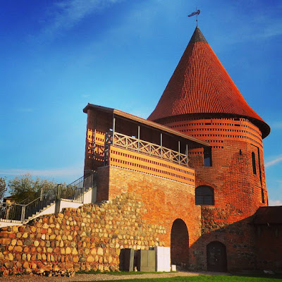 Is Kaunas worth visiting: tower in Kaunas Lithuania