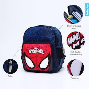 Spiderman Mask Rucksack S - Tas sekolah ransel anak