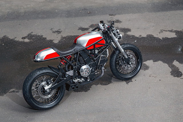 Ducati 900SS By Birdie Customs Hell Kustom