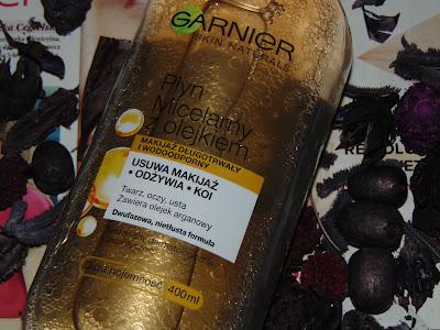 Skin Naturals, Płyn micelarny z olejkiem arganowym, Garnier