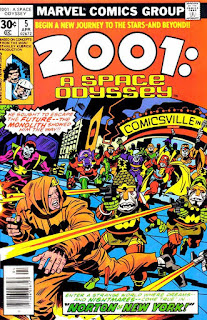 2001 #5 cover