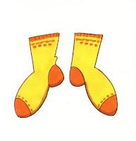 Resultat d'imatges de calcetines dibujo