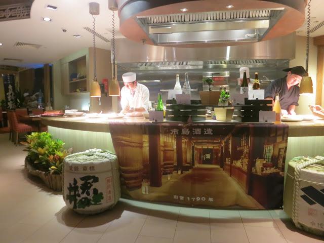 Niigata-style sake sake pairing menu