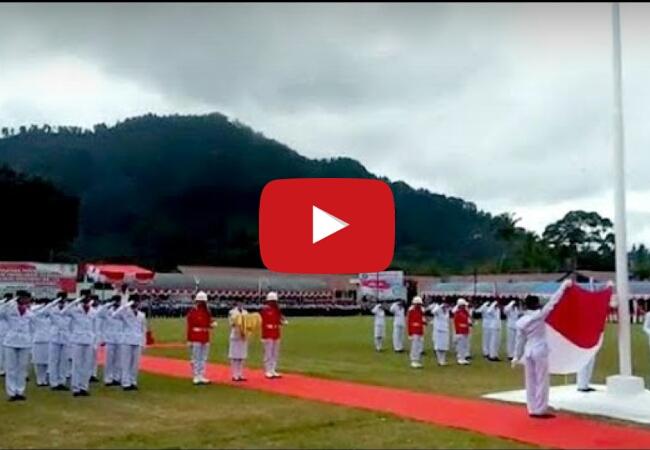 Video Detik-detik Paskibra Tana Toraja Gagal Naikkan Bendera, Dandim Marah Besar!