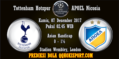 Prediksi Bola Tottenham Hotspur vs APOEL Nicosia Liga Champions 2017-2018