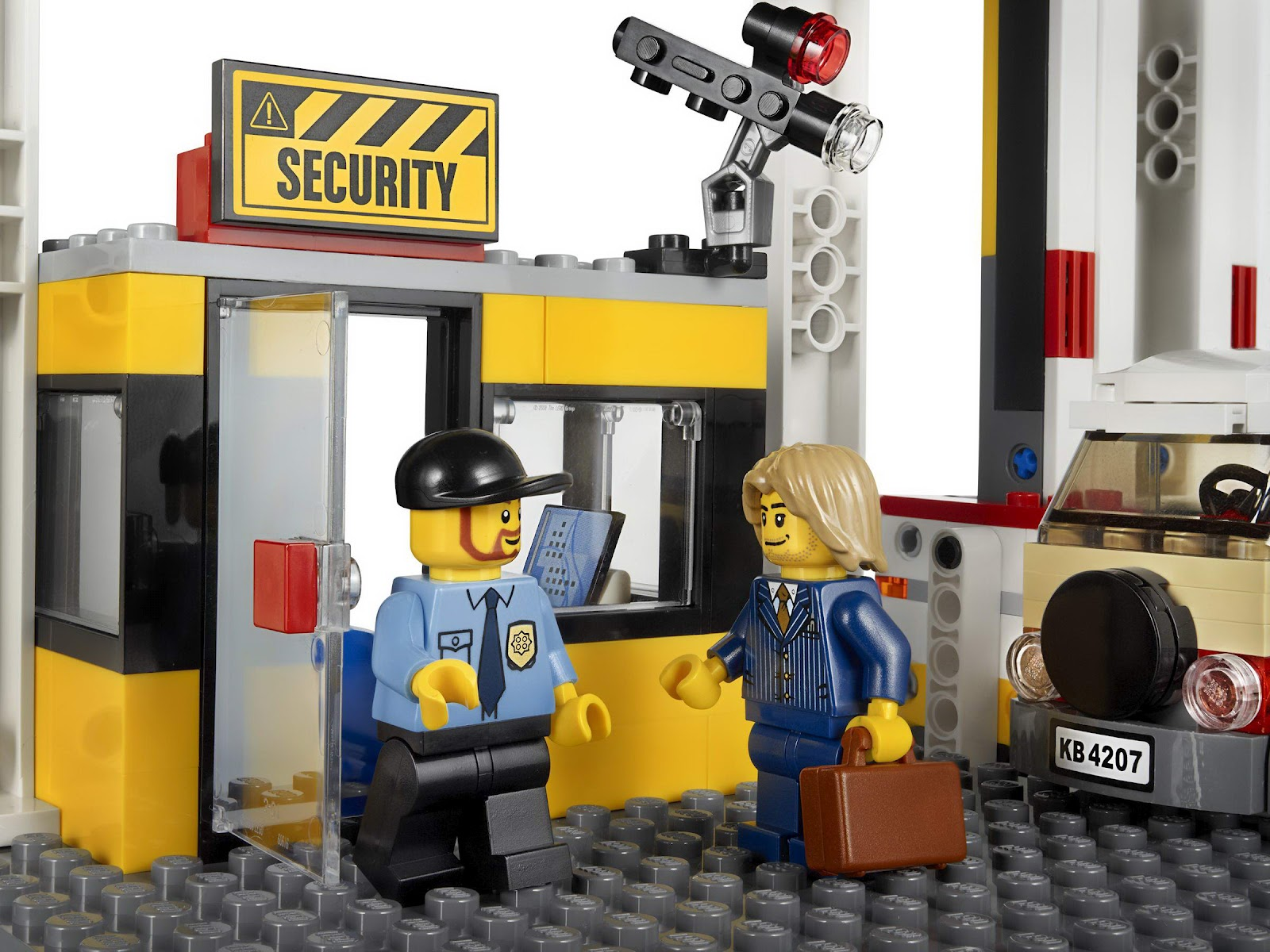 oneTWOBRICK.com: set database: LEGO 4207 city garage