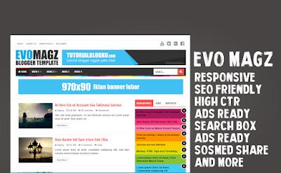 Evo Magz V4.7 Asli - Blogger Templates - Mas Sugeng