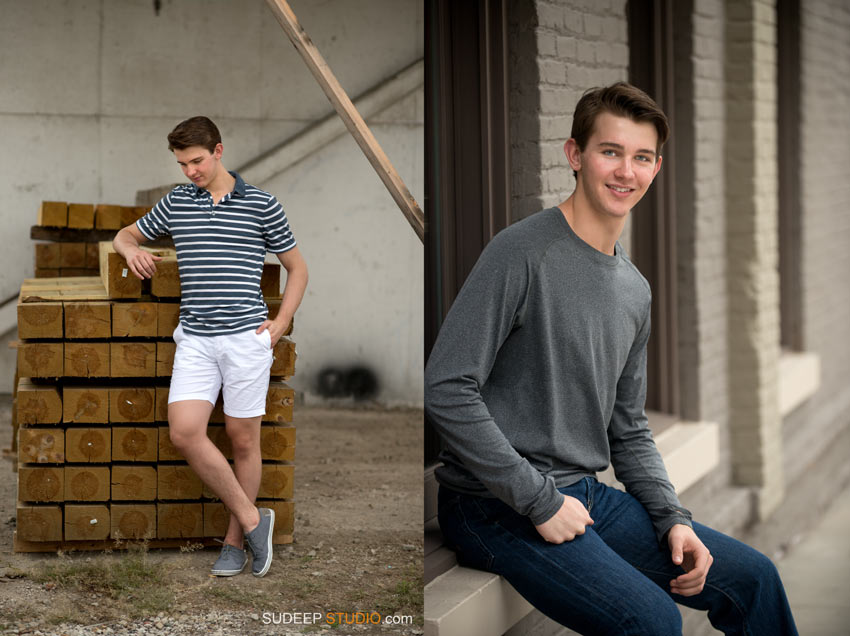 Stylish Senior Pictures Ann Arbor Pioneer - Sudeep Studio.com