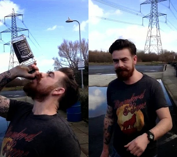 Drinker Risks Life Downing Bottle Of Jack Daniels In Just 10 Seconds