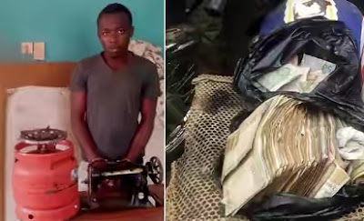 Police nabbed student burglar of OOU hostel (PHOTO)