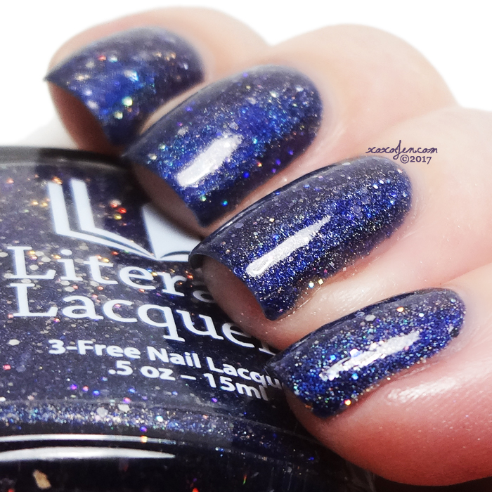 xoxoJen's swatch of Literary Lacquers Handful of Falling Stars