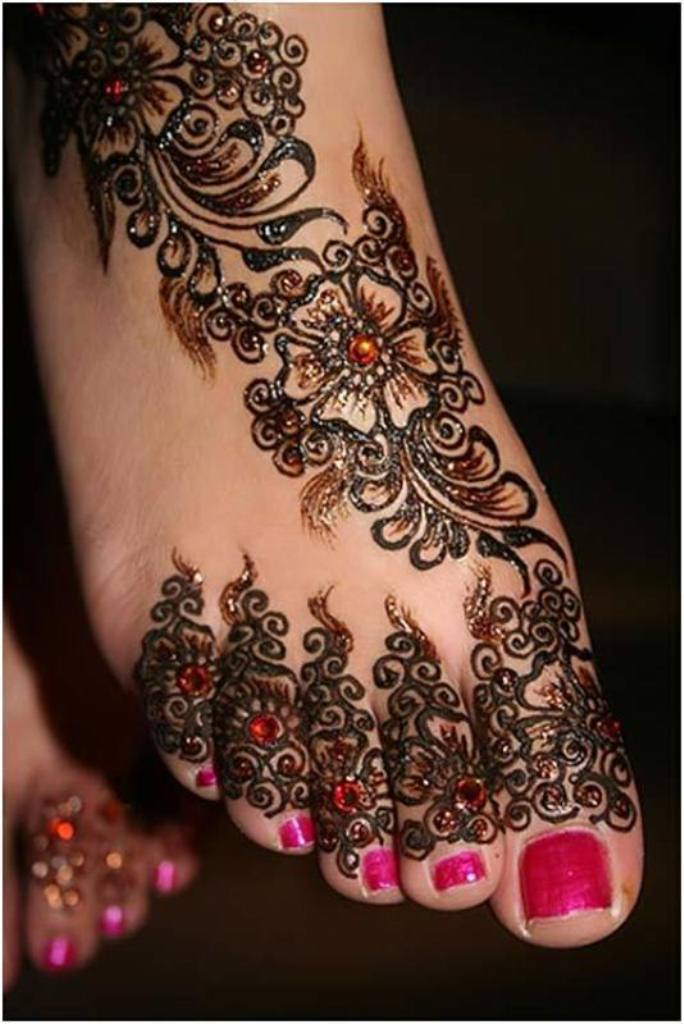 Kumpulan Motif Henna Pengantin Simple Henna Wedding Simple