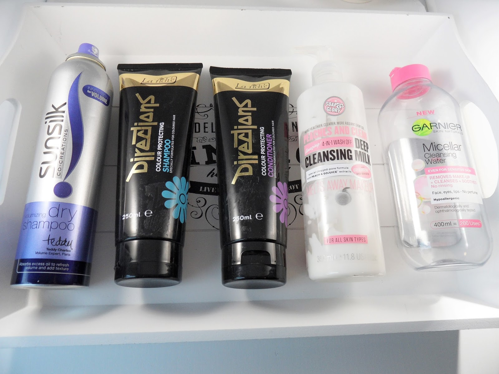 January 2016 product empties sunsilk la rich directions shampoo review www.eyelinerflicks.com blog