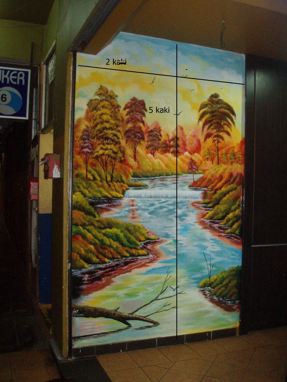 Pelukis mural shah alam harga lukisan mural for Mural sekolah rendah