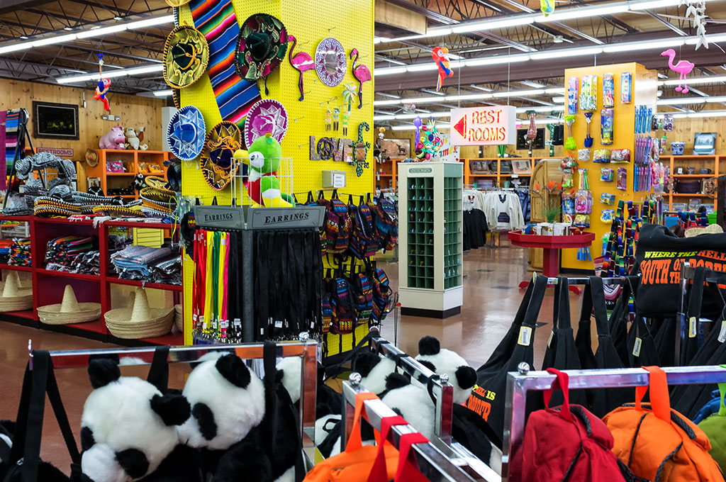 A Shop at South of the Border