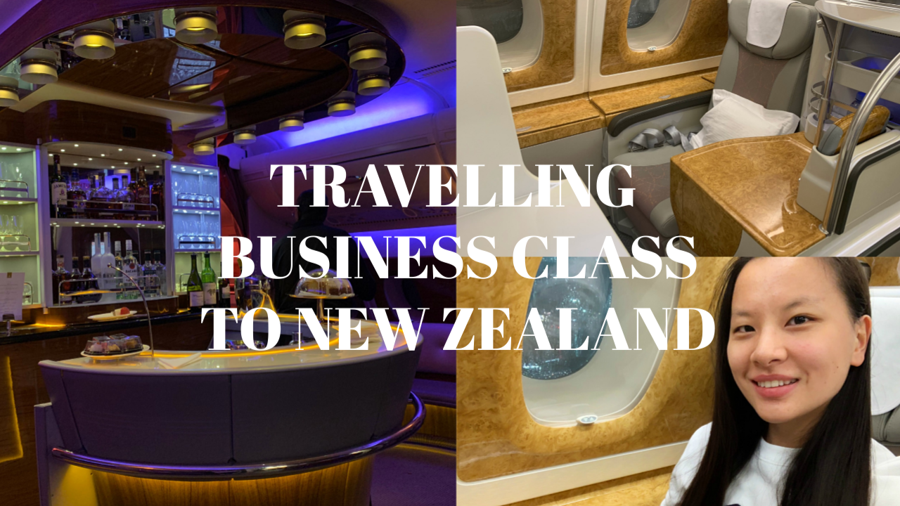 Video | TRAVELLING BUSINESS CLASS TO NEW ZEALAND WITH EMIRATES