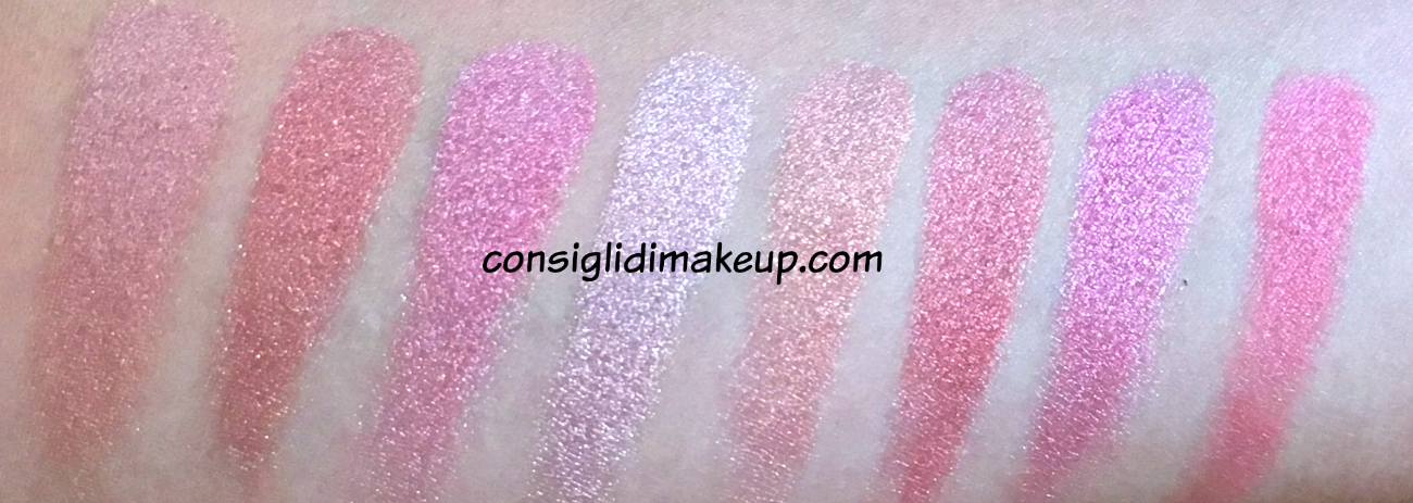 Blush Palette Blush Queen Makeup Revolution swatches