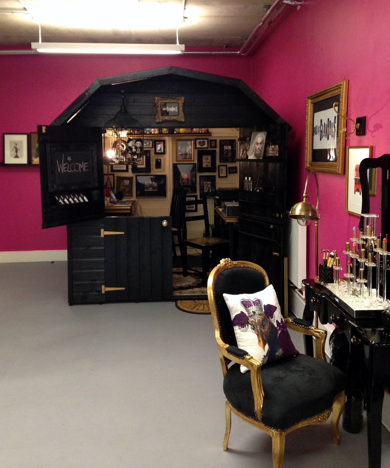 House of Glam Dolls Glam Shed