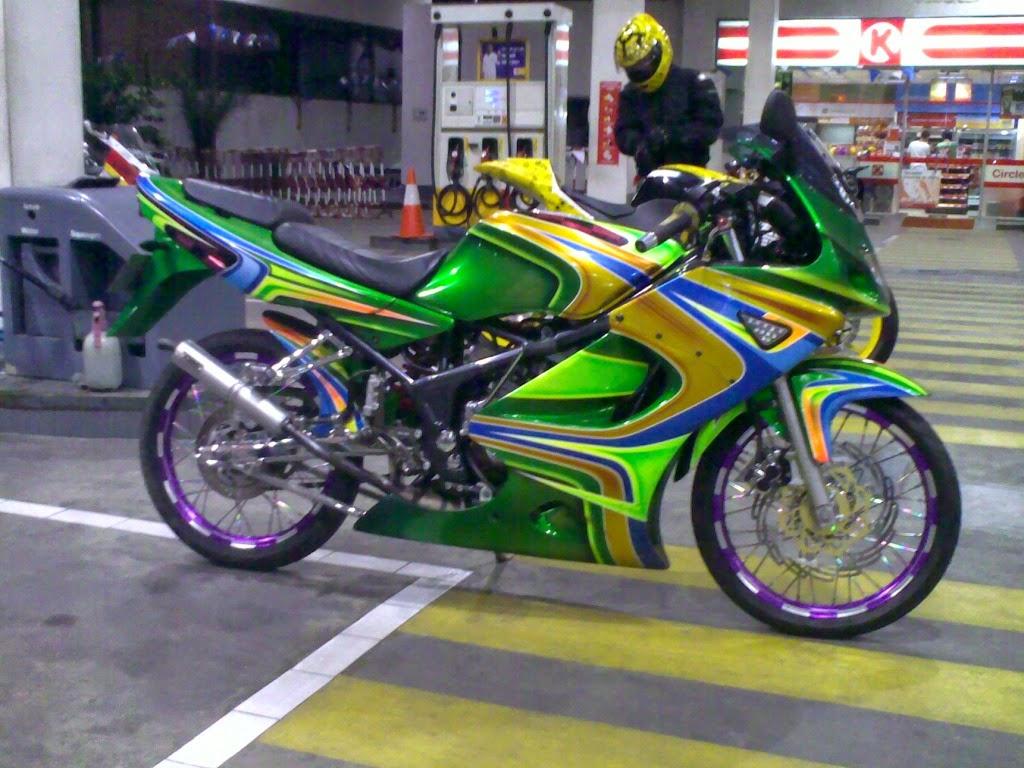 68 Lihat Gambar Modifikasi Motor Ninja Terbaik Gedheg Motor