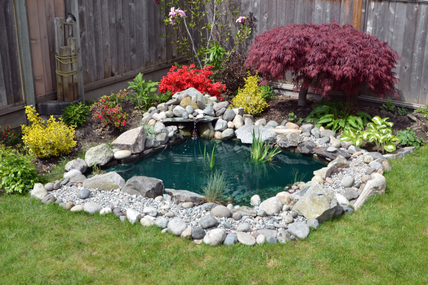 60 photos of small eye catching backyard ponds ideas for your small