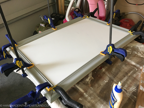 How to make a custom wood frame