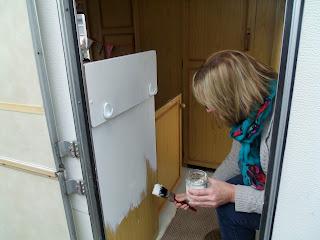 Can I Paint My Caravan Cupboards