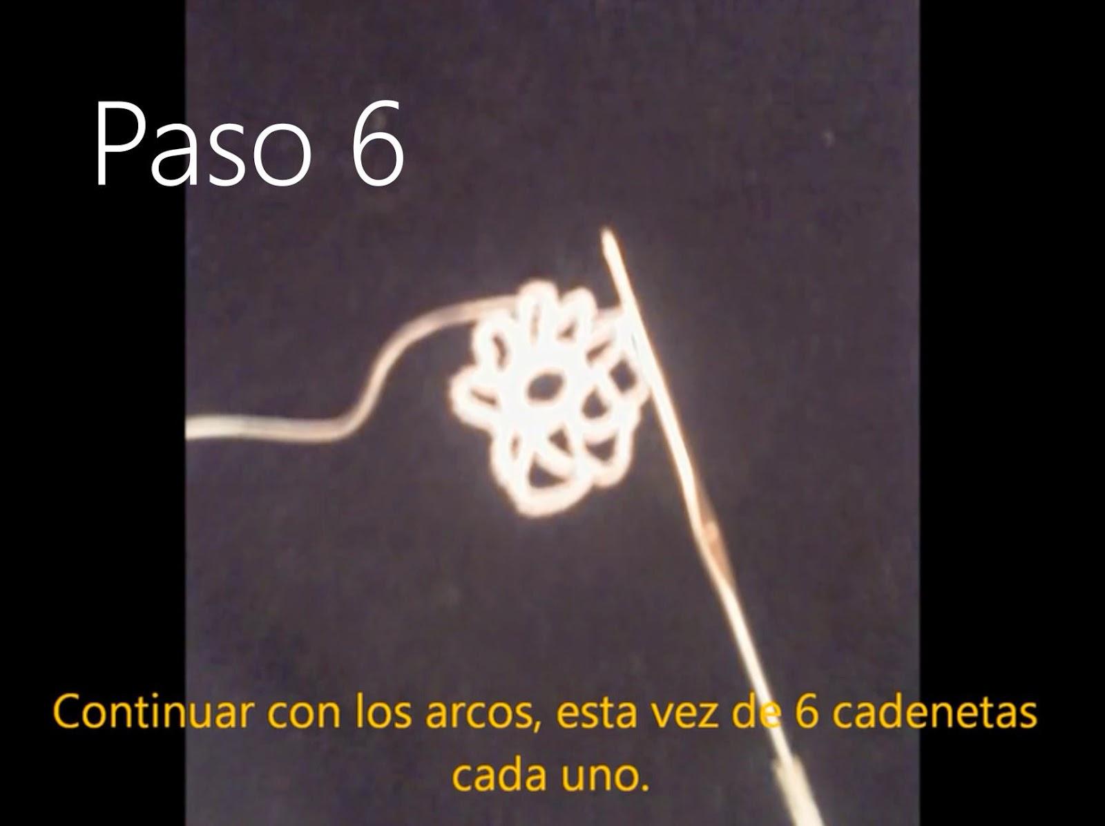 Tapete Flor Paso 6