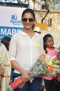 Actress Rakul Preet Singh at Endometriosis Awareness Walk at Apollo Cradle  0031.jpg