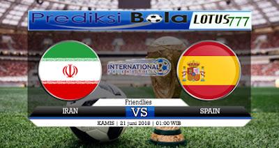 Prediksi Skor Bola Iran VS Spanyol 21 Juni 2018