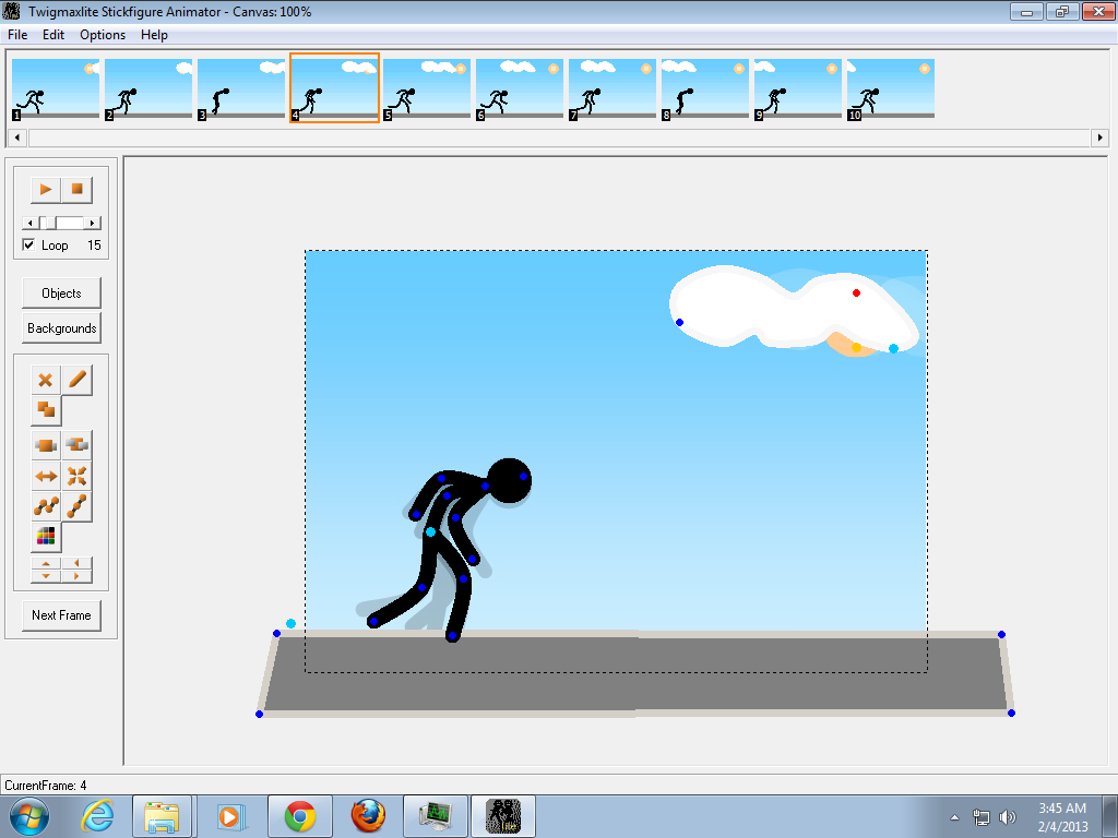 3d flash animator 4 9 8 7 key