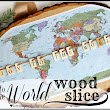 joy to the world ~ wood slice project ♥