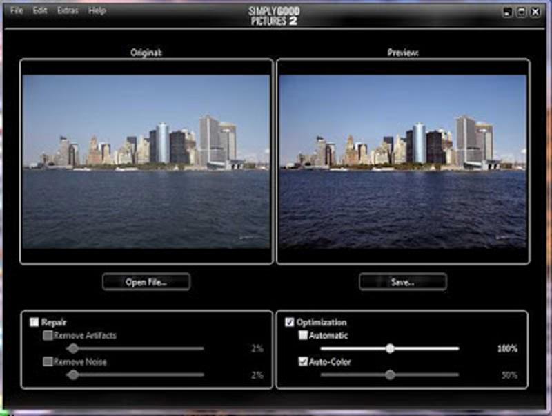 Simply Good Pictures-Phần mềm giúp ảnh bạn tự chụp đẹp hơn