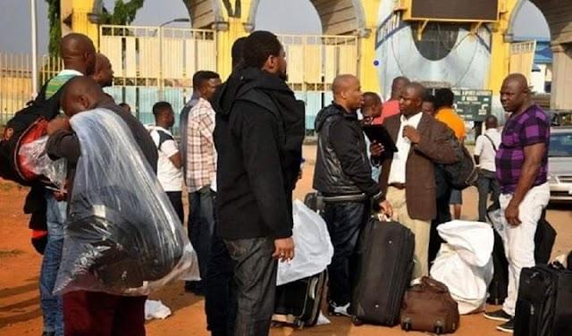 Karma Strick Nigerians as Ghana Deports 723 Nigerians