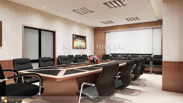 Thiết kế nội thất phòng họp đẹp với xu hướng kết cấu không gian mở - H3