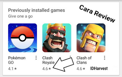 Cara Review Aplikasi dan Game di Google Play Store