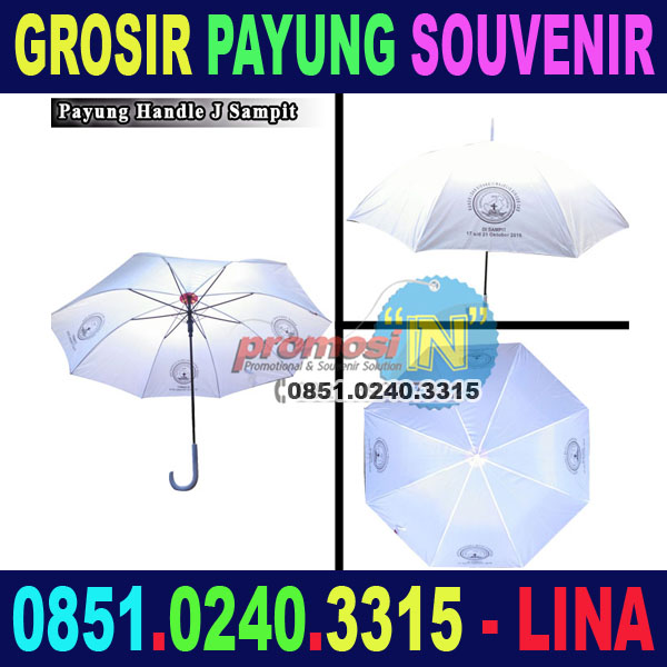 Grosir Payung Souvenir Advertisement Murah Sampit