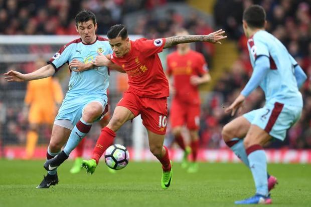 Burnely vs Liverpool