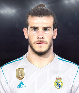 PES 2018 Faces Gareth Bale by Jarray & The White Demon