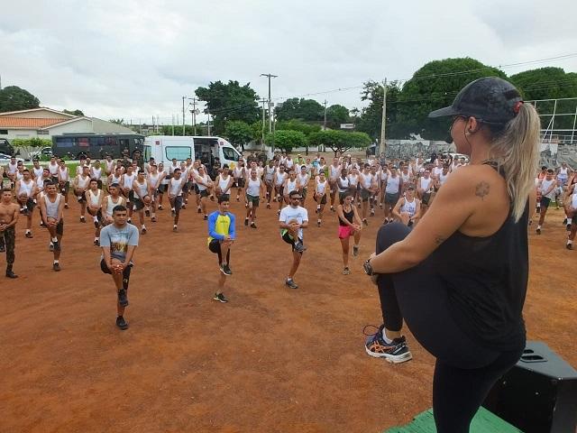 Bombeiros de Guajará-Mirim participam da corrida da Paz promovida pelo 6º BIS