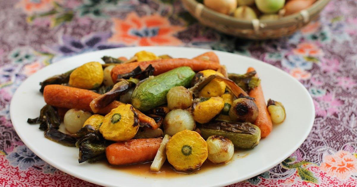 Roasting Vegetables For Baby Food