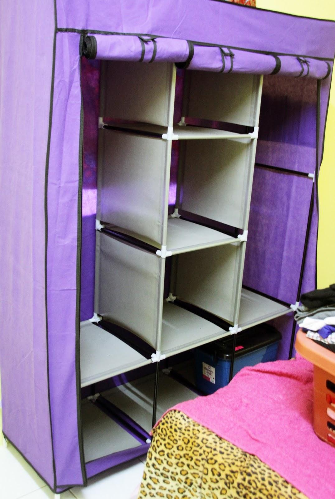 Tadaaaa Haha Siap Dah Almari Rangers Purple Ku Btw Mmg Agak Besar Dan Kukuh La Ni Standard Dengan Harga Kan Haaa Aku Masukkan